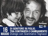 """BERGAMO - Evento""""Di genitore in figlio. Tra continuità e cambiamento. Dialogo con Gianmarco Tognazzi"""