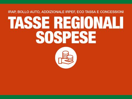 CORONAVIRUS - Regione Lombardia: sospesi fino al 31 maggio Irap, addizionale regionale Irpef, bollo