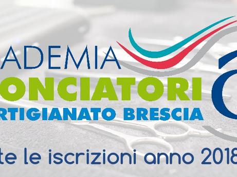 BRESCIA: Accademia Acconciatori -  Aperte iscrizioni A.A. 2018/19