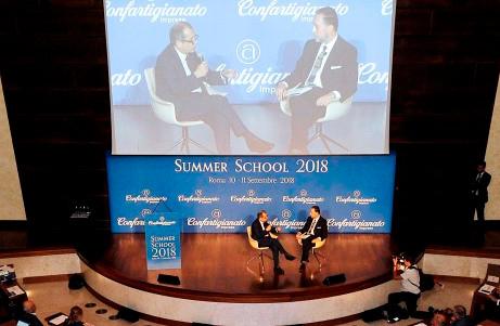 SUMMER SCHOOL - Confartigianato a confronto con il Governo