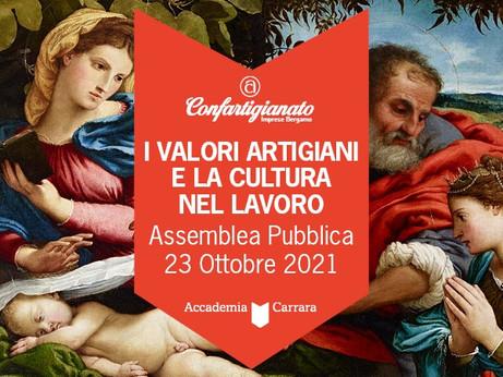 BERGAMO - L'Assemblea pubblica Confartigianato Imprese Bergamo il 23 ottobre all'Accademia Carrara