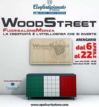 MILANO MONZA E BRIANZA - Torna Woodstreet. Creatività e saper fare: il fuorisalone degli artigiani d