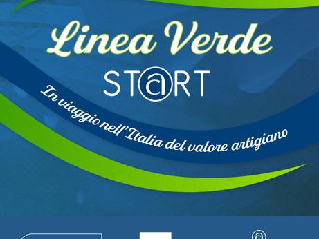 MEDIA - 'Linea Verde Start': Rai 1 e Confartigianato in viaggio nell'Italia del #valoreartigiano