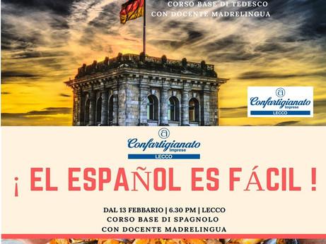LECCO -  Al via i corsi base di tedesco e spagnolo