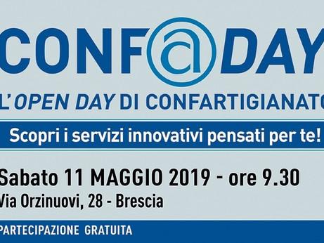 BRESCIA - SAVE THE DATE – Sabato 11 maggio ritorna CONF@DAY, l'Open Day