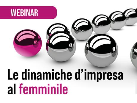 BERGAMO - Le dinamiche d'impresa al femminile. Webinar il 9 marzo 2021