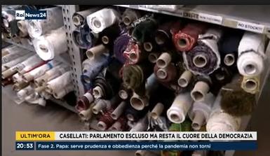 COMO - I danni all'economia e le difficoltà della ripartenza: su RaiNews 24 intervistati il Segr