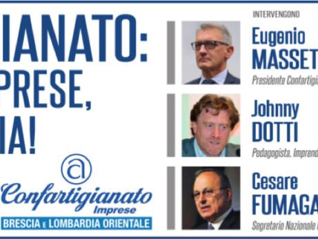 """BRESCIA: INCONTRO A ORZINUOVI -  """"Confartigianato: utile alle imprese, utile all'Italia! Il ruolo de"""