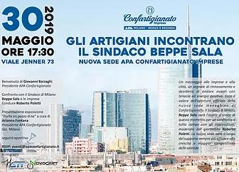 MILANO - Inaugurazione nuova sede milanese di APA Confartigianato Imprese