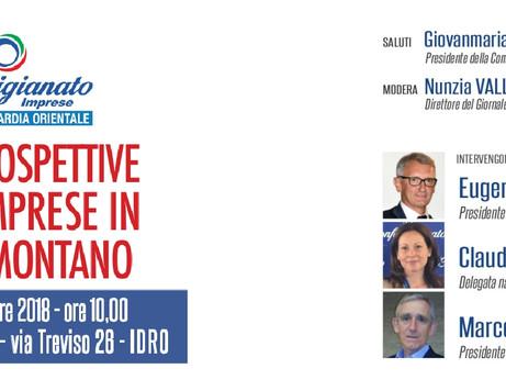 BRESCIA: Sabato 15 dicembre a IDRO il 70° di Confartigianato Imprese Brescia e Lombardia Orientale.