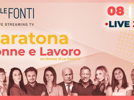 8 MARZO -  La Presidente Donne Impresa Elena Ghezzi tra le protagoniste della Maratona Le Fonti TV