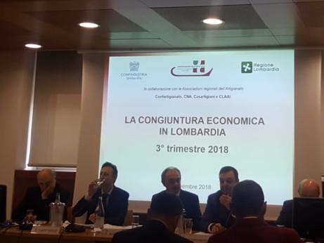 CONGIUNTURA TERZO TRIMESTRE 2018 - per l'artigianato rallenta la velocità di crescita, ordini intern