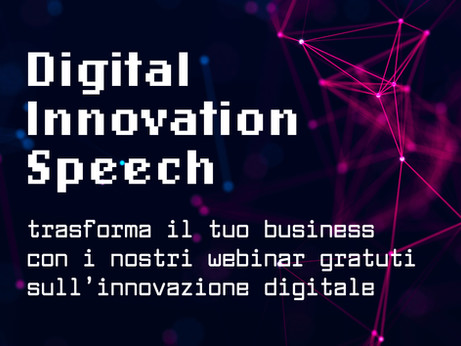 BERGAMO - Digital Innovation Speech. Lunedì 15 marzo webinar su linkedin