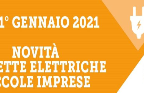 ENERGIA – Dal 1° gennaio 2021 per MPI al via graduale passaggio al mercato libero dell'elettricità