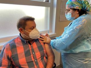 """Alcalde Reinoso hizo un llamado a vacunarse """"la dosis de refuerzo da mayor seguridad a la comunidad"""""""