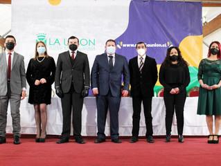 Andrés Reinoso asumió como alcalde de la comuna de La Unión