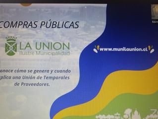 Capacitaciones: Municipio unionino apuesta por fortalecer compras públicas en negocios locales
