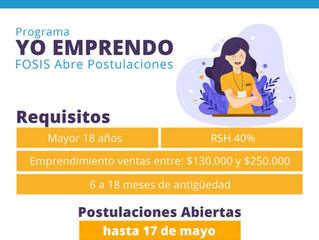 Municipalidad de La Unión invita a participar de programa de apoyo al emprendimiento de FOSIS