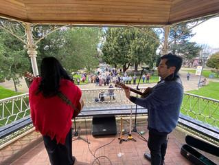 La Unión: Municipio y fundación Alerce Milenario celebraron el día de la música chilena.