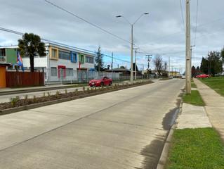 Alcalde llama a respetar velocidad en calle  Prat por riesgo para estudiantes de jardín Infantil.