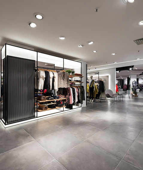 Modehaus Architektur Innenarchitektur