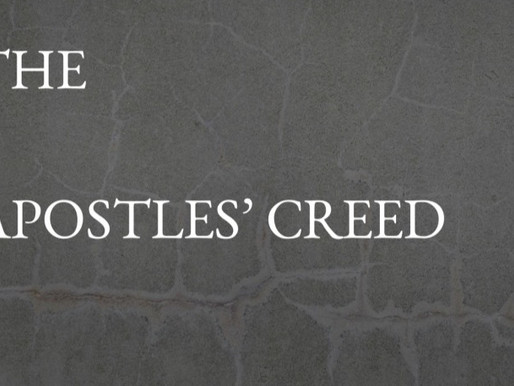 The Apostles' Creed: An Introduction