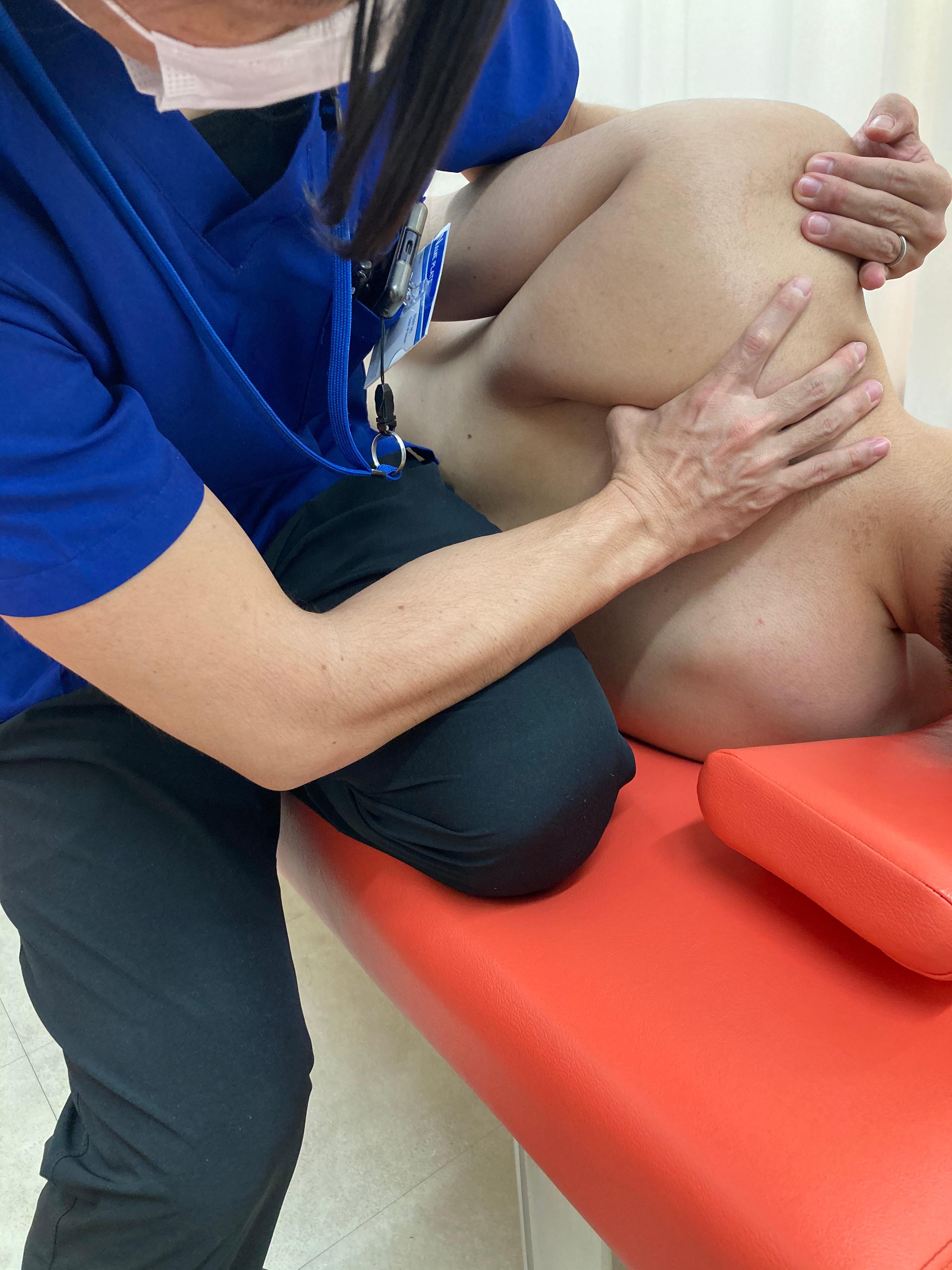 肩関節疾患の手技療法とエクササイズ