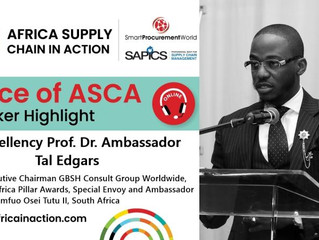 Join the GBSH Consult Group Executive Chairman at the South Africa Supply Chain in Action 2020