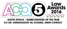 South Africa - GameChanger of the Year 2016 - H.E.Dr. Ambassador Tal Edgars