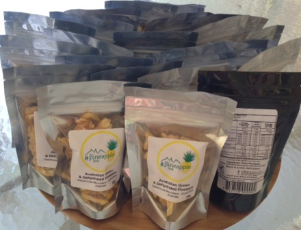 Dried Pineapple 50gm Pack