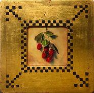 Venetian Frame - BLACKBERRIES (unripe)..