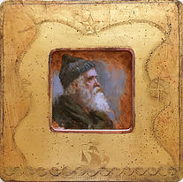 Venetian Frame - Man of the Sea 3.75x3.7