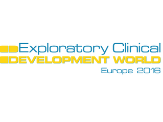 Exploratory Clinical Development World Europe 2016