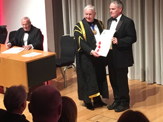 Dr Mark Dale Receives Honorary Membership of the Faculty of Pharmaceutical Medicine