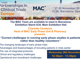 PARTNERSHIPS IN CLINICAL TRIALS 2018, BARCELONA