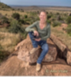 Dr. Alayne Cotterill. Lion Landscapes. Save wild lions. Promote Co-existence. Lion Conservation and Research Africa. Photo by Ami Vitale.