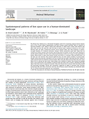 Publication Spatiotemporal patterns of lion space use in a human-dominated landscape
