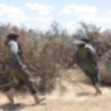 Savewildlions. Promote Co-existence. Lion Rangers Unit Loisaba. Lion conservation Africa.