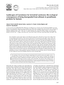 Publication Landscapes of Coexistence for terrestrial carnivores: the ecological consequences of being downgraded from ultimate to penultimate predator by humans