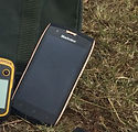 Rugged smartphone for lion ranger