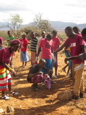 Martin Odino training Ewaso Lions Photo