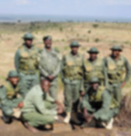 Lion Ranger Unit Loisaba. Save wild lions. Promote Co-existence. Lion Conservation and Research Africa.