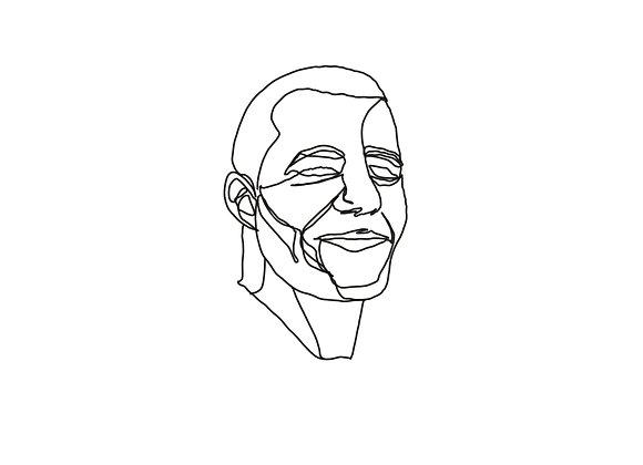 """Portrait imprimé """"sur mesure"""" format au choix"""