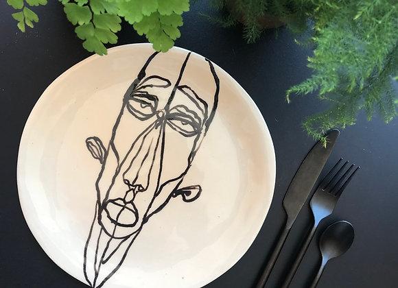 Assiette Henry 22cm bord plat