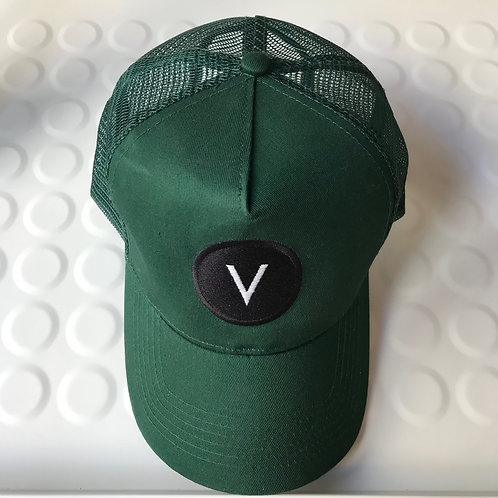 """casquette """"victor dressed you"""" vert anglais"""