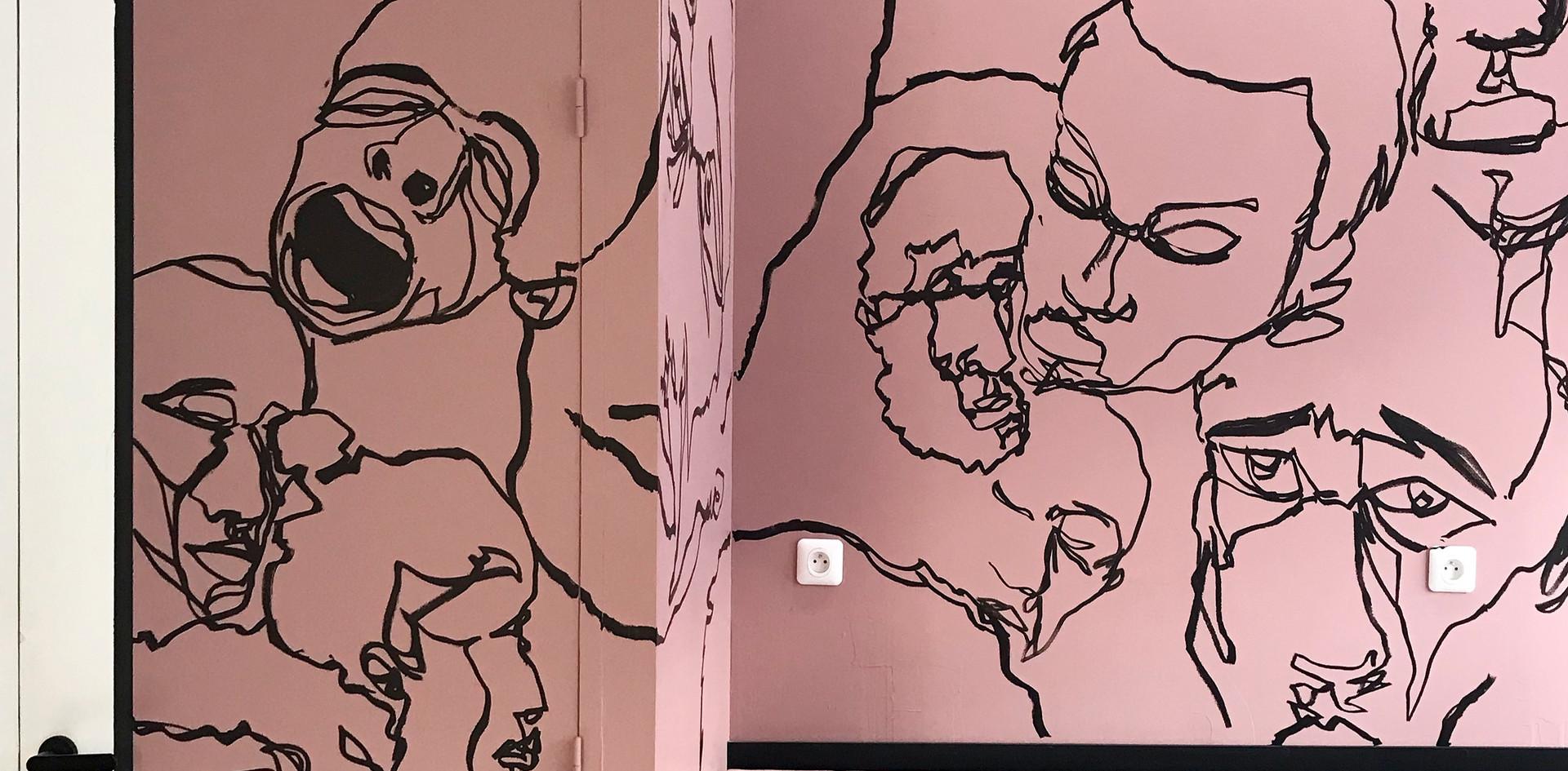 Fresque Victor
