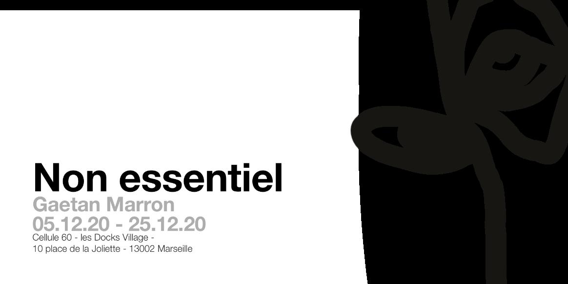 """Expo """"non essentiel"""""""