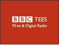 We've appeared on BBC Tees Radio