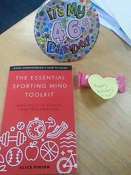 The Essential Sporting Mind Tookit Paperback Book by Alice Pinion of Head First Sports Performance