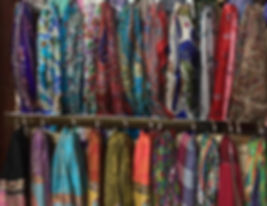 Tibetan Wool and Silk Scarves